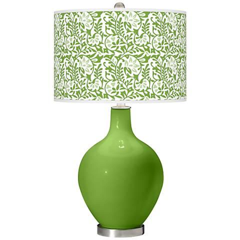 Rosemary Green Gardenia Ovo Table Lamp