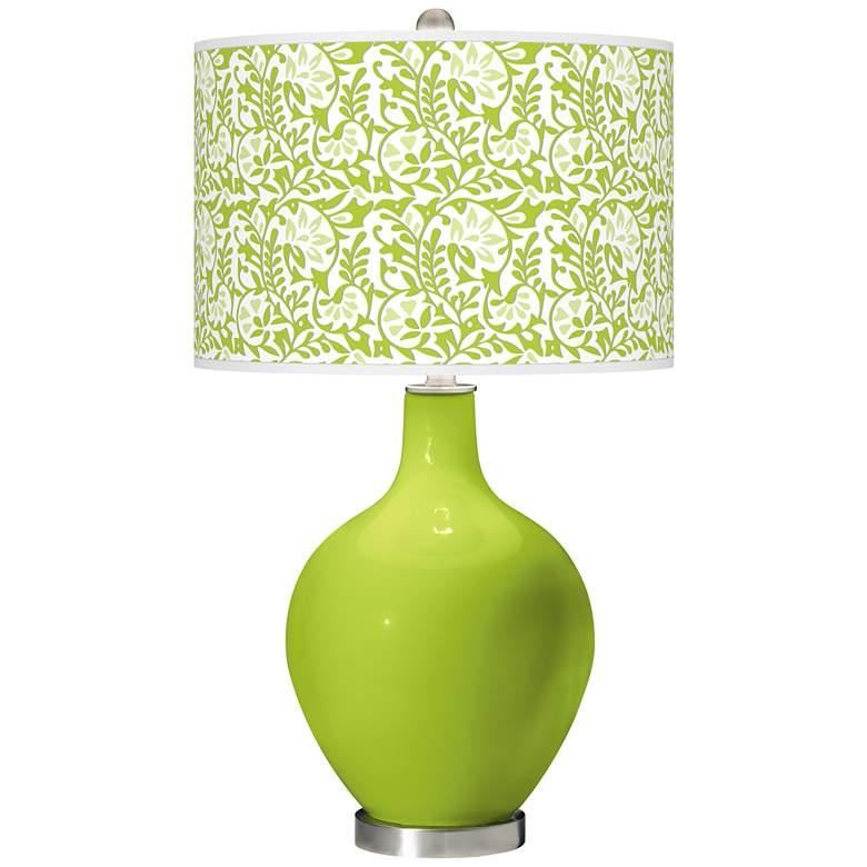 Tender Shoots Gardenia Ovo Table Lamp