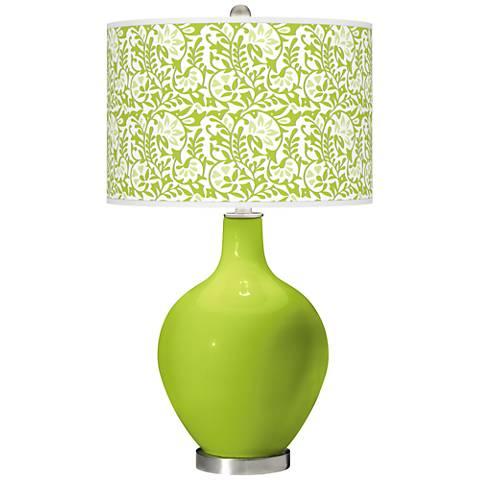 Tender Shoots Gardenia Ovo Table Lamp