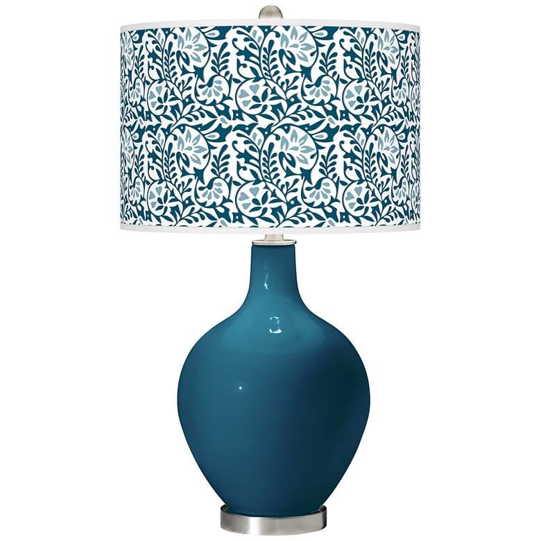 Oceanside Gardenia Ovo Table Lamp