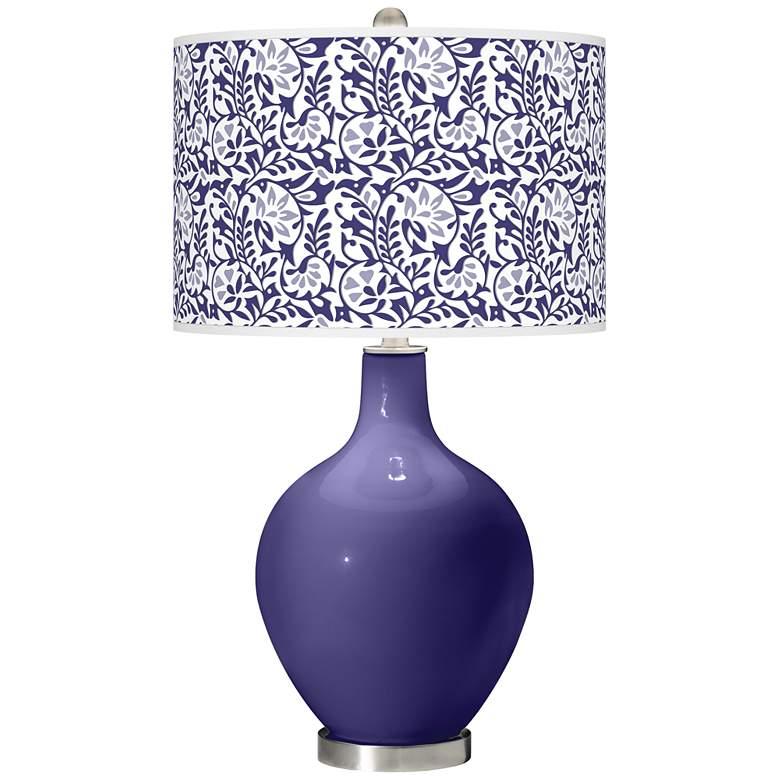 Valiant Violet Gardenia Ovo Table Lamp