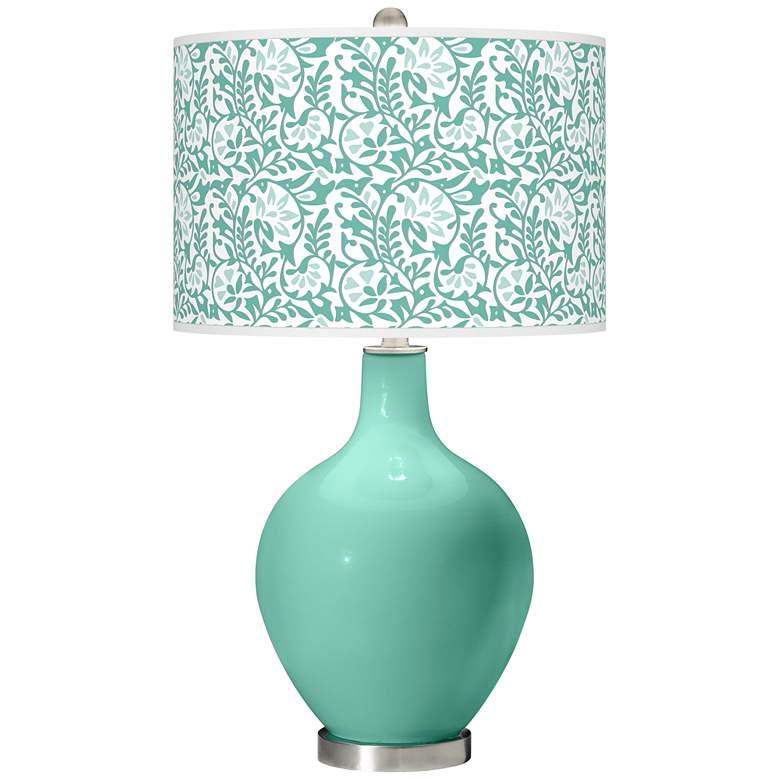 Larchmere Gardenia Ovo Table Lamp