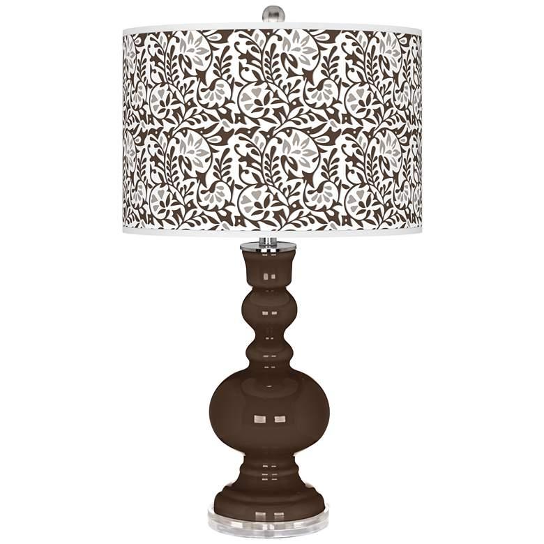 Carafe Gardenia Apothecary Table Lamp