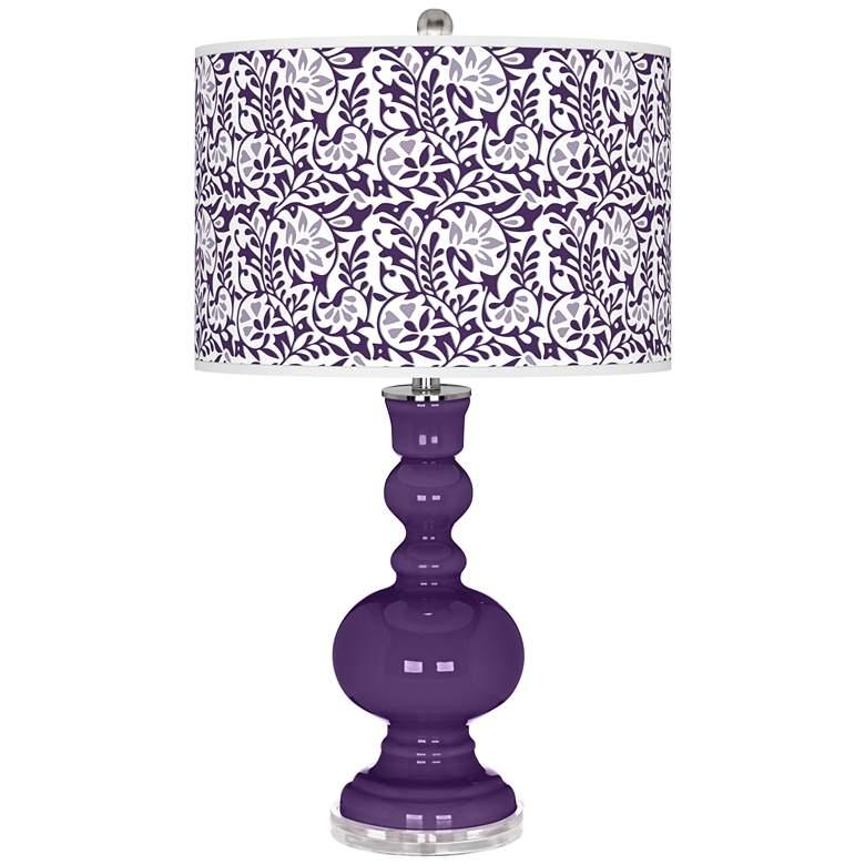 Acai Gardenia Apothecary Table Lamp