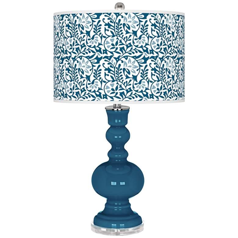 Bosporus Gardenia Apothecary Table Lamp