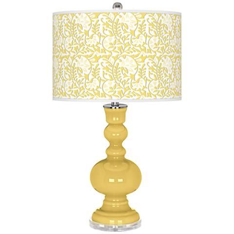 Daffodil Gardenia Apothecary Table Lamp