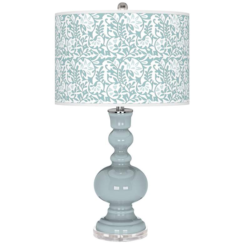 Rain Gardenia Apothecary Table Lamp