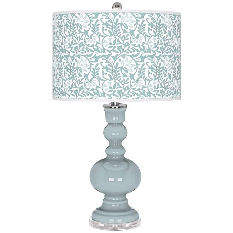 Rain Gardenia Apothecary Table Lamp