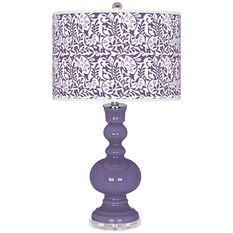 Purple Haze Gardenia Apothecary Table Lamp