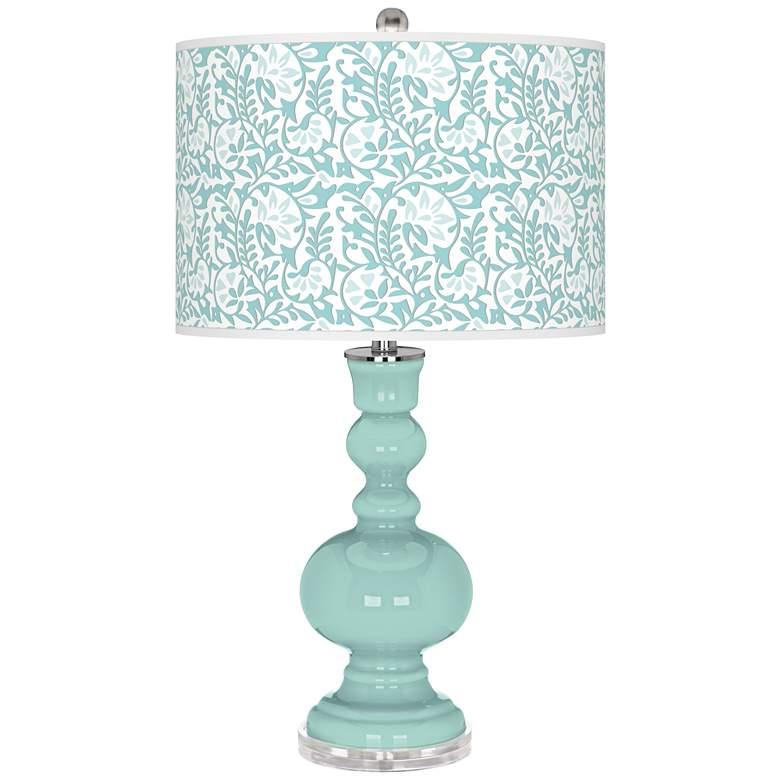Cay Gardenia Apothecary Table Lamp