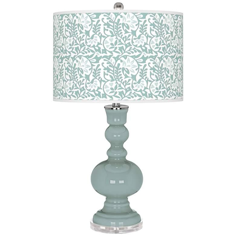 Aqua-Sphere Gardenia Apothecary Table Lamp