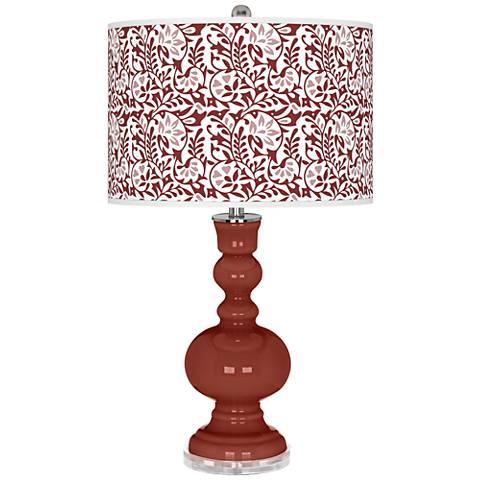 Madeira Gardenia Apothecary Table Lamp