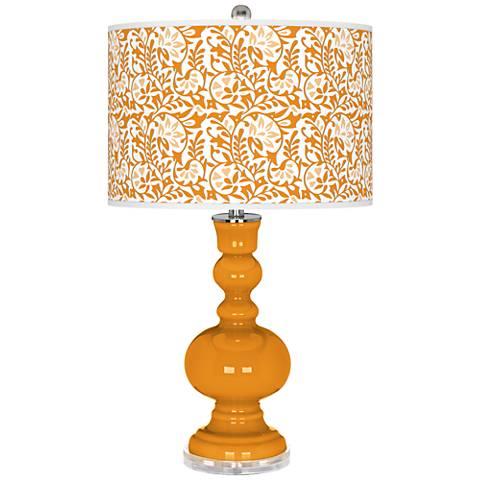 Carnival Gardenia Apothecary Table Lamp