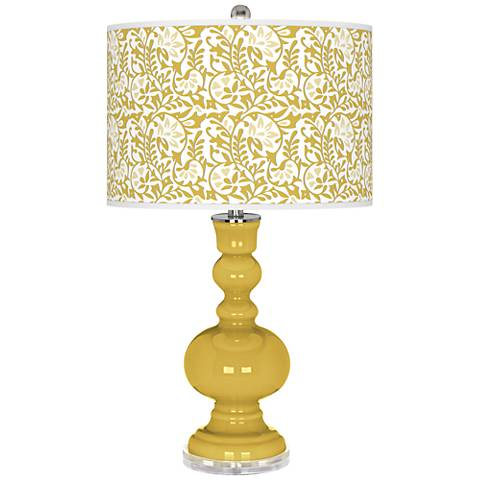 Nugget Gardenia Apothecary Table Lamp