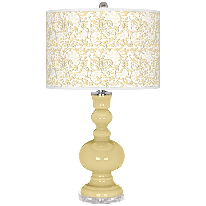 Butter Up Gardenia Apothecary Table Lamp