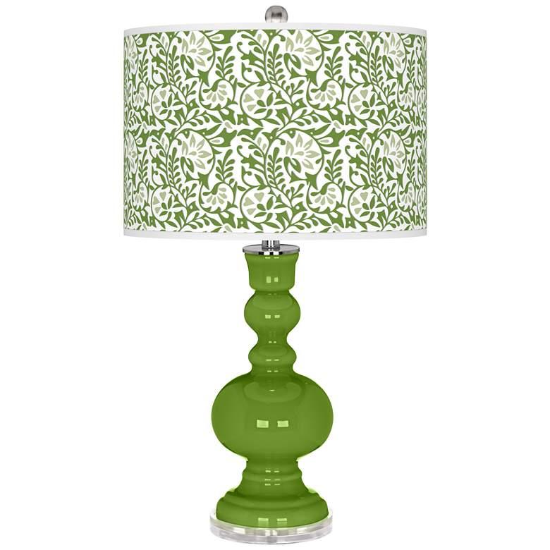 Gecko Gardenia Apothecary Table Lamp
