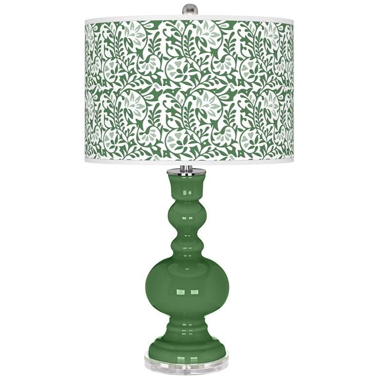 Garden Grove Gardenia Apothecary Table Lamp