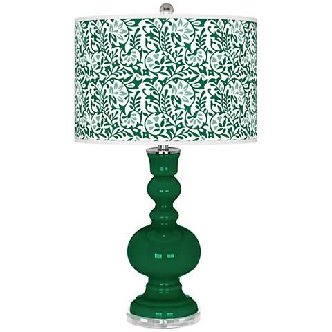 Greens Gardenia Apothecary Table Lamp