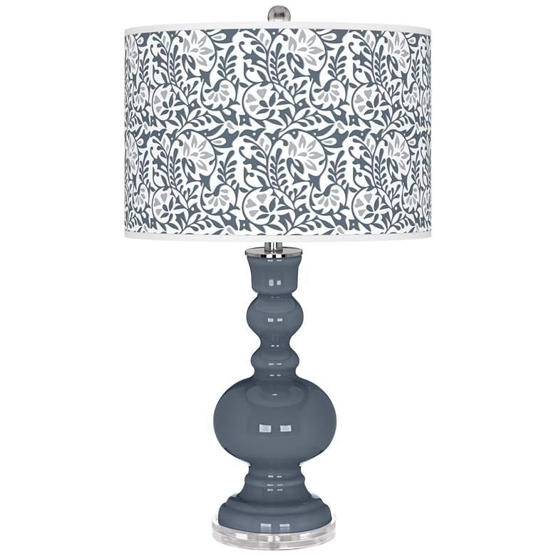 Granite Peak Gardenia Apothecary Table Lamp