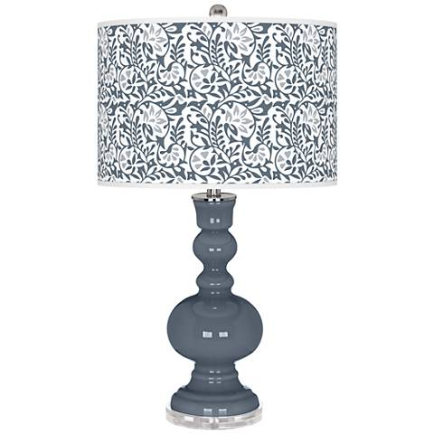 Granite Peak Gardenia Apothecary Table Lamp
