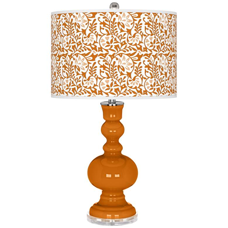 Cinnamon Spice Gardenia Apothecary Table Lamp