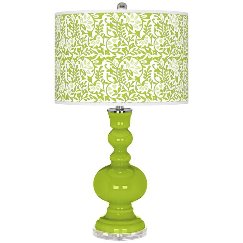Tender Shoots Gardenia Apothecary Table Lamp