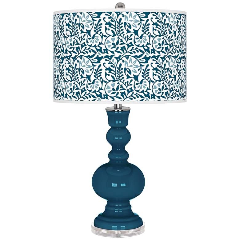 Oceanside Gardenia Apothecary Table Lamp