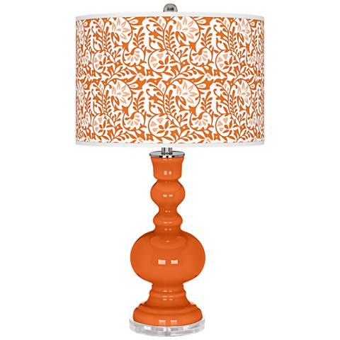Invigorate Gardenia Apothecary Table Lamp