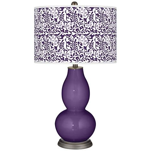 Acai Gardenia Double Gourd Table Lamp