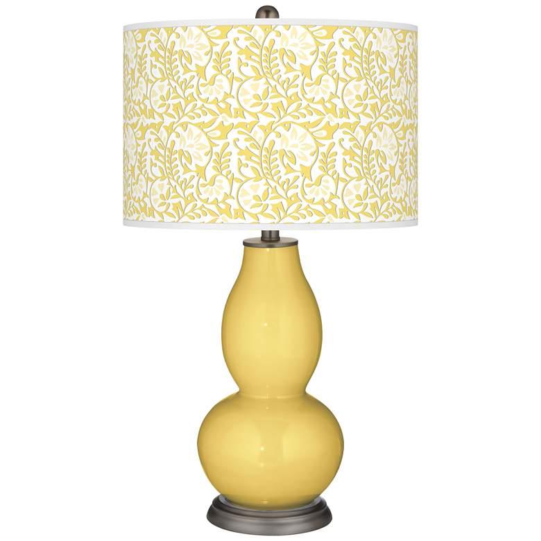 Daffodil Gardenia Double Gourd Table Lamp