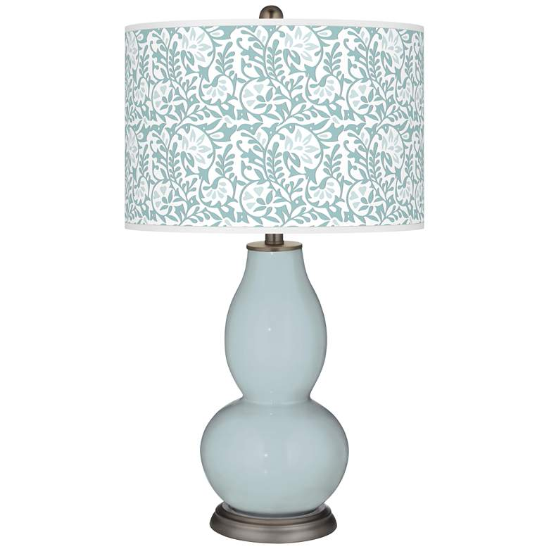 Rain Gardenia Double Gourd Table Lamp