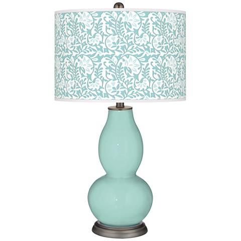 Cay Gardenia Double Gourd Table Lamp