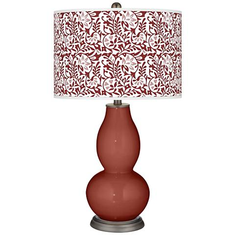 Madeira Gardenia Double Gourd Table Lamp