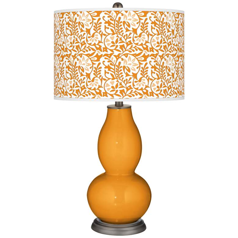 Carnival Gardenia Double Gourd Table Lamp
