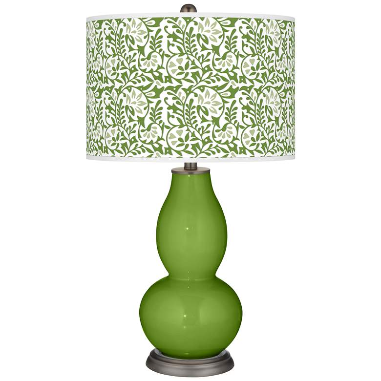 Gecko Gardenia Double Gourd Table Lamp