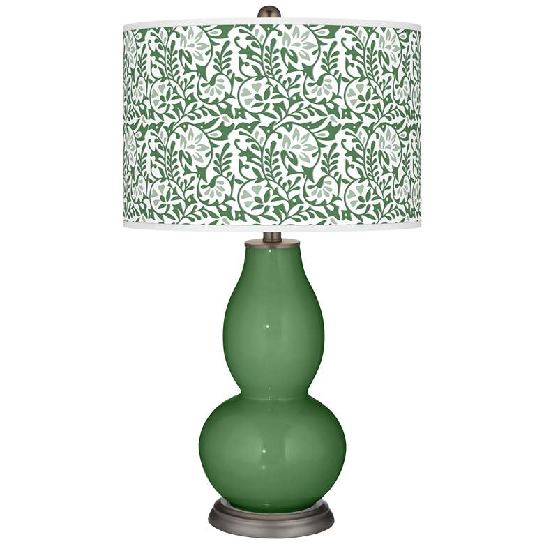Garden Grove Gardenia Double Gourd Table Lamp