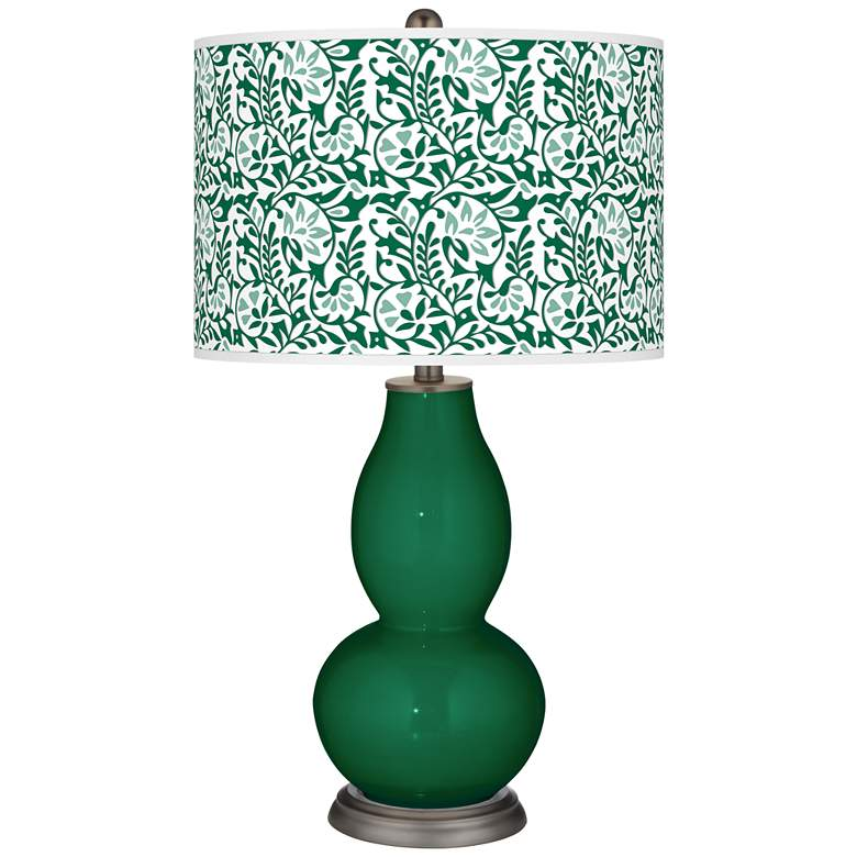 Greens Gardenia Double Gourd Table Lamp