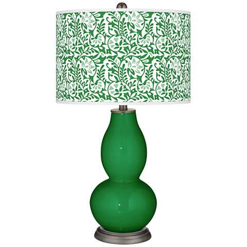 Envy Gardenia Double Gourd Table Lamp