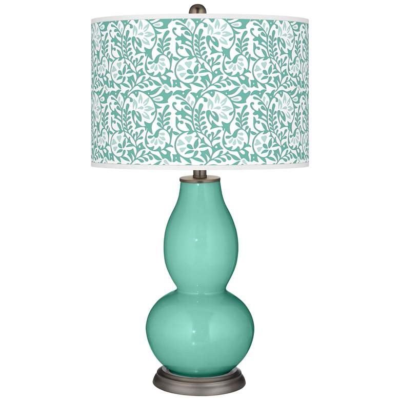 Larchmere Gardenia Double Gourd Table Lamp