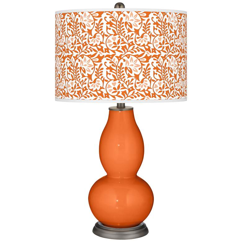 Invigorate Gardenia Double Gourd Table Lamp