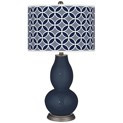 Naval Circle Rings Double Gourd Table Lamp