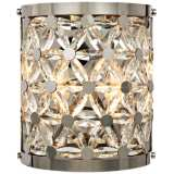 """Cassiopeia 10 1/2"""" High Polished Nickel Wall Sconce"""