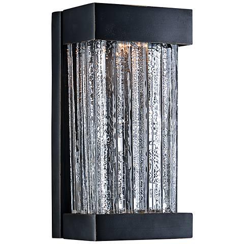 """Maxim Encore VX 10"""" High Bronze LED Outdoor Wall Light"""