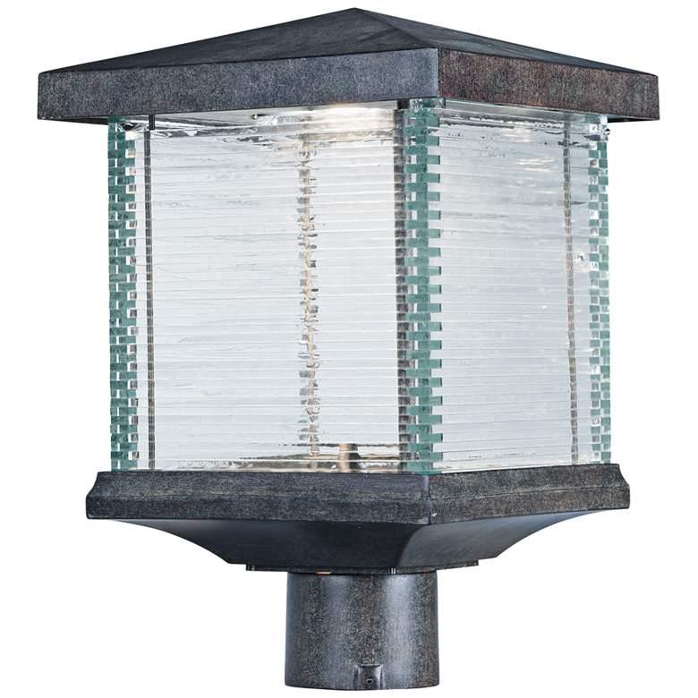 "Maxim Triumph VX 15"" High Earth Tone LED Outdoor Post Light"