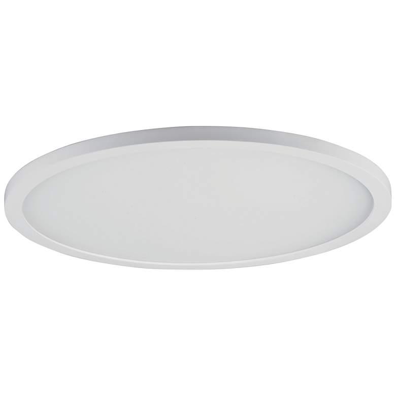"Maxim Wafer 15"" Wide White 3000K LED Round Ceiling Light"