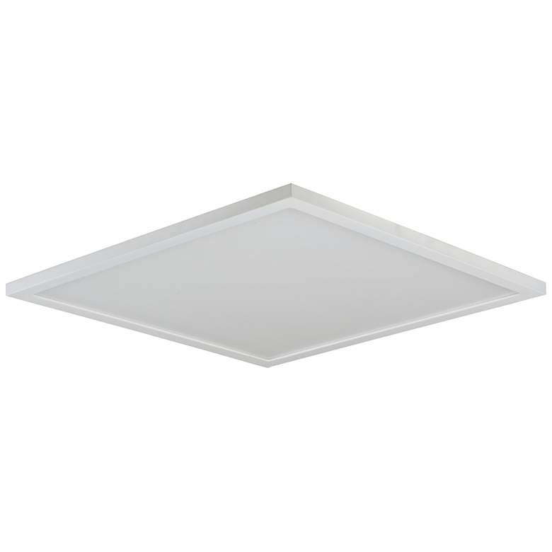 """Maxim Wafer 15"""" Wide White 4000K LED Square Ceiling Light"""