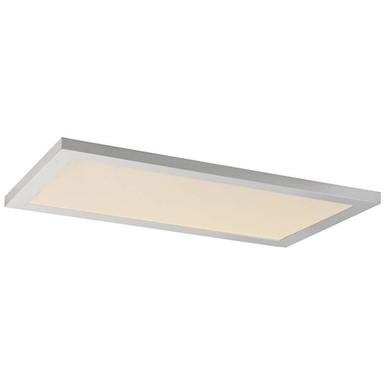 """Maxim Sky Panel 23 1/2"""" Wide White 3000K LED Ceiling Light"""