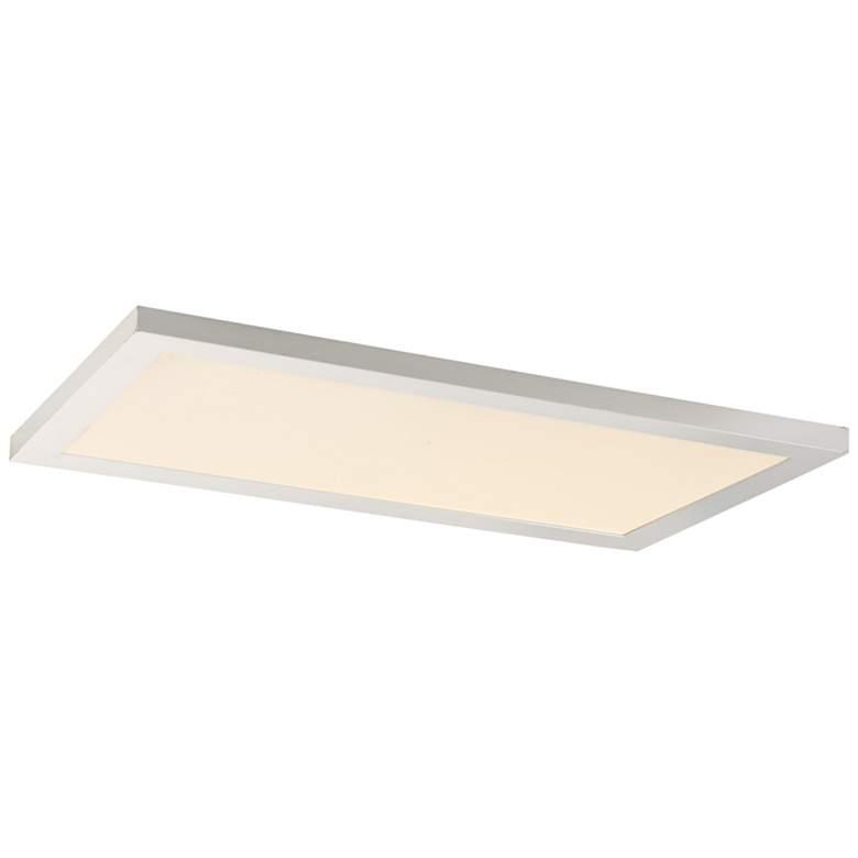"""Maxim Sky Panel 23 1/2"""" Wide White 4000K LED Ceiling Light"""