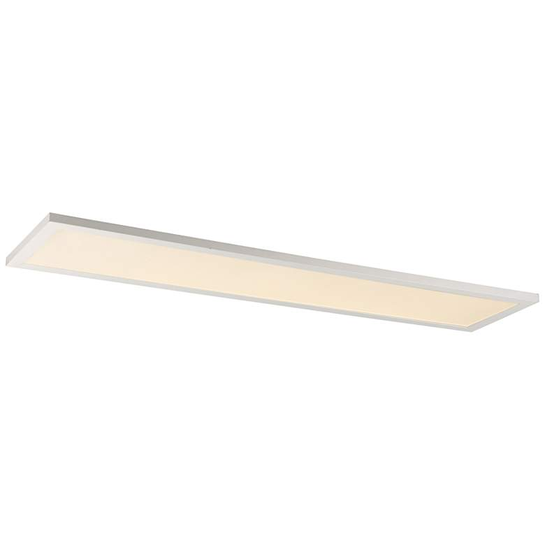 """Maxim Sky Panel 48"""" Wide White 3000K LED Ceiling Light"""