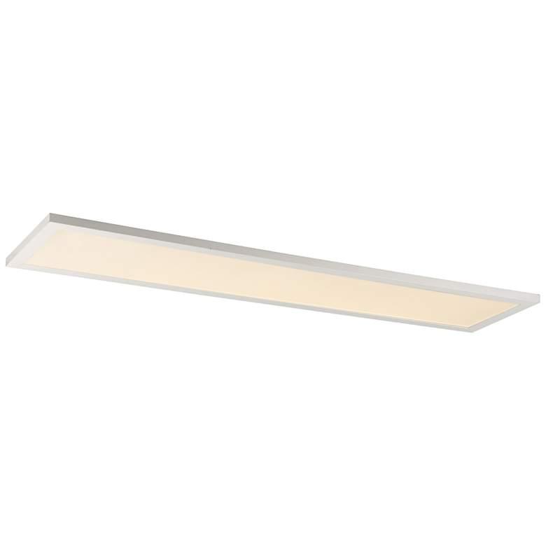 """Maxim Sky Panel 48"""" Wide White 4000K LED Ceiling Light"""